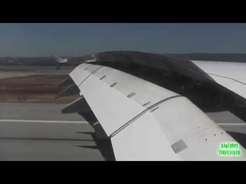 Lufthansa A380 Breathtaking Approach, Landing & Taxi in San