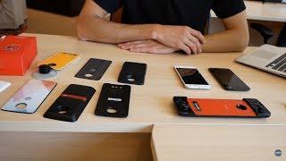 Обзор смартфонов Motorola Moto Z2 Force и Z2 Play