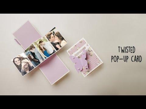 Twisted Popup Card | Handmade Card