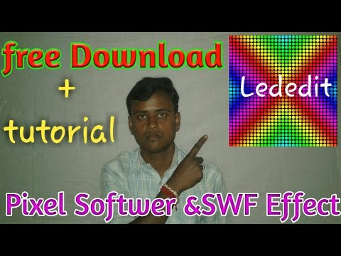 How to create pixel programing? New Software free download & tutorial thumbnail