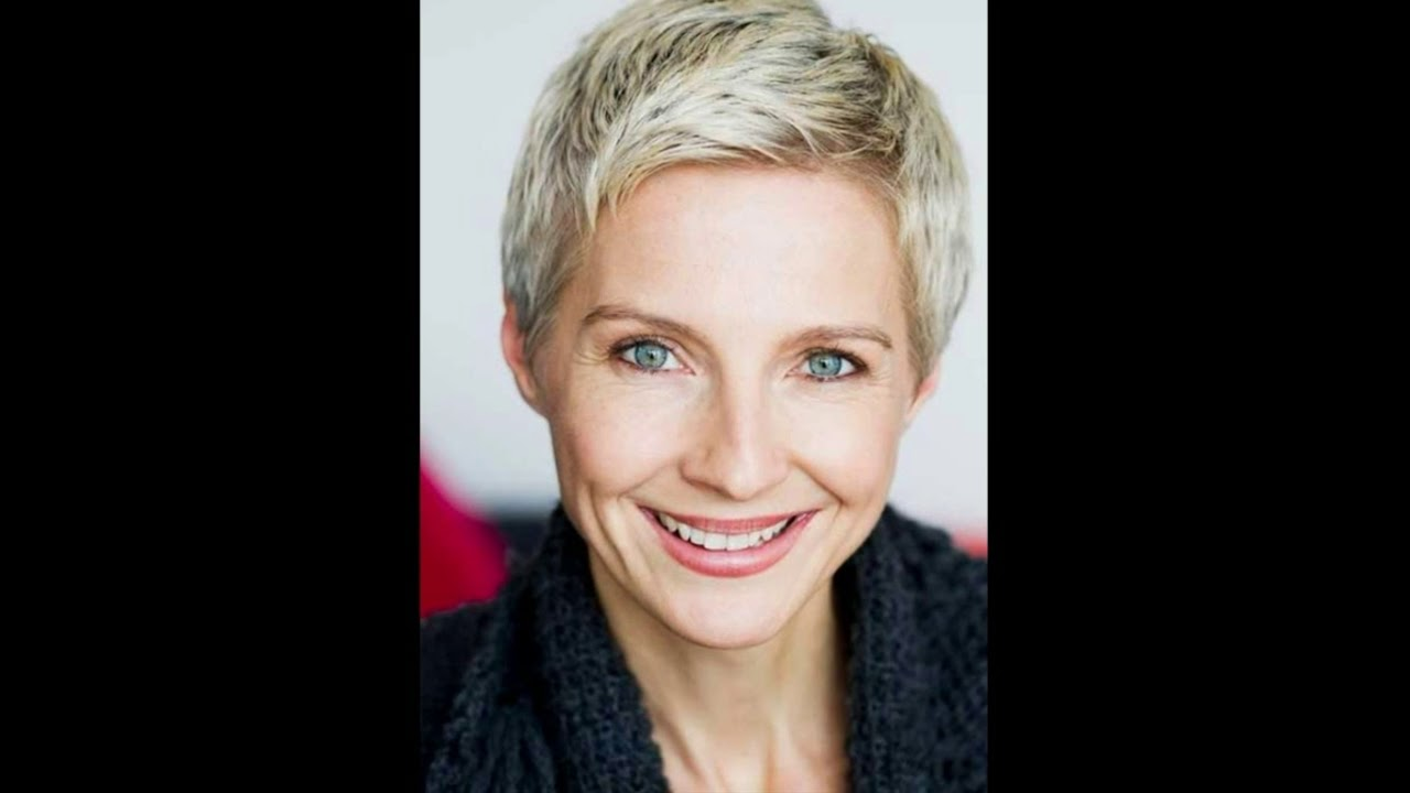 Pixie Hairstyles for Older Women 2018 - YouTube