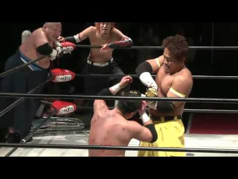 Yankee Two Kenju & Abdullah Kobayashi vs. Masashi Takeda, Masaya Takahashi & Ryuichi Sekine thumbnail