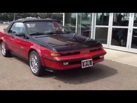 Pre Owned 1988 Pontiac Sunbird Gt Turbo Convertible For