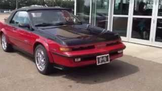Pre Owned 1988 Pontiac Sunbird GT Turbo Convertible for sale in Medicine Hat