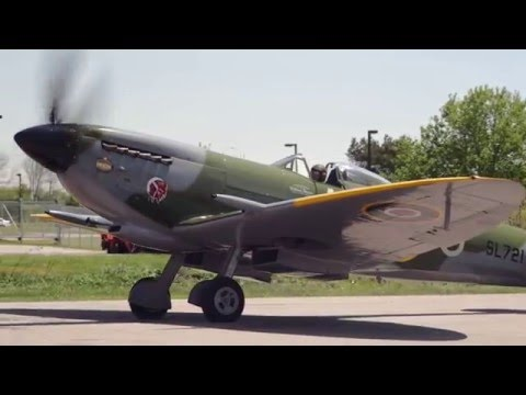 Vintage Wings of Canada's Spitfire Mk XVI - May 23, 2015