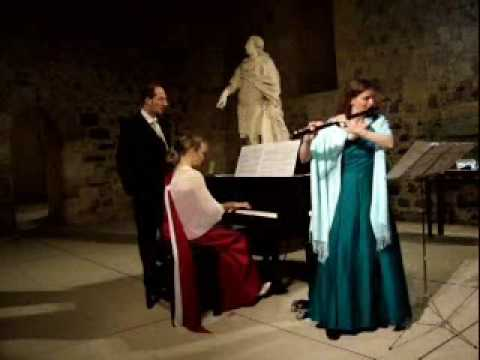 Karin Leitner plays Louis Ganne Andante et Scherzo in Catania