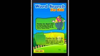Word Search Game For Kids iPhone/iPad Game