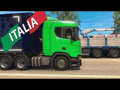 Euro Truck Simulator 2 Italia DLC - Trailer Pick Up from Bologna |