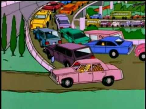 Elon Musk tunnel project (The Simpson)