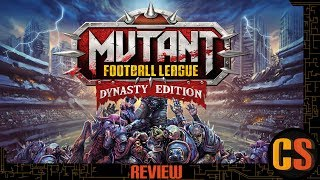 MUTANT FOOTBALL LEAGUE DYNASTY EDITION - REVIEW