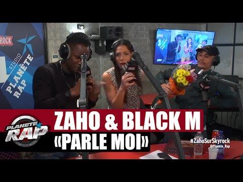 """Zaho """"Parle moi"""" feat Black M en live #PlanèteRap"""