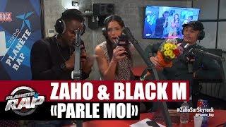 """Zaho """"Parle moi"""" feat Black M en live #Plane?teRap"""