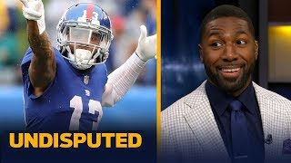 Greg Jennings says the Giants offense is 'not better' without Odell Beckham Jr. | NFL | UNDISPUTED