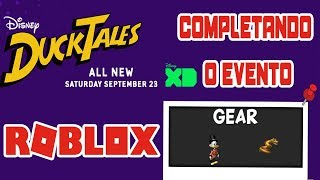 ROBLOX: Completing the Ducktales event Part 1 (Uncle Scrooge)