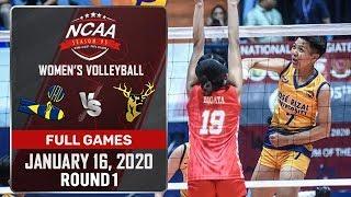 JRU vs. SSC-R - January 16, 2020 | Full Game | 4th Set | NCAA 95 WV