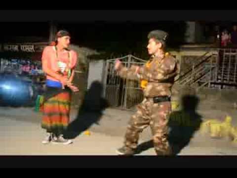 Achha Lekin London Kushal And Toppay Comedy Dance Lakshman Gurung Aig Bhailo Group 2070