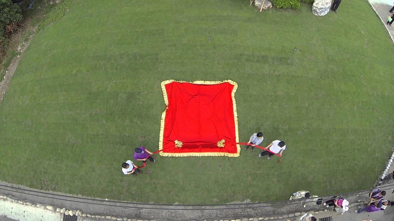 興大EMBA校友會-2014/11/1「興大康堤揭牌儀式」及「愛在康堤義賣園遊會」空拍記實 - YouTube