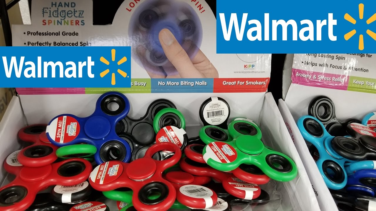 walmart fidget spinner unboxing review and durability