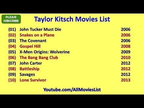 Taylor Kitsch Movies List