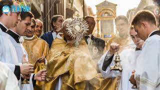 El milagro de Bolsena, aquí se instituye la fiesta de Corpus Christi