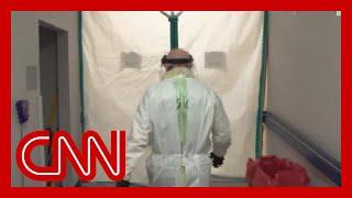 See inside a Houston hospital on the front line against coronavirus