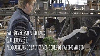 Josiane SABLÉ (Producteur de Lait de vaches) - Eleveur Ambassadeur Bleu-Blanc-Cœur