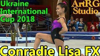 CONRADIE Lisa (RSA) FX AA Junior - Ukraine International Cup 2018
