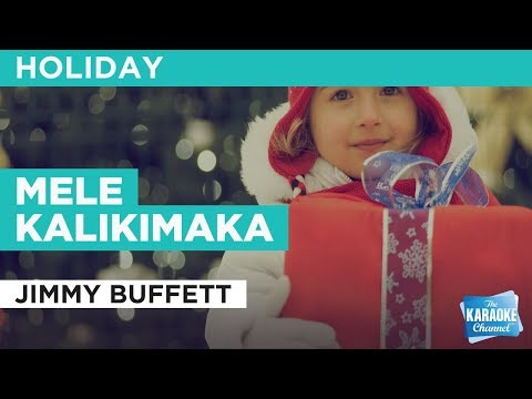 Mele Kalikimaka in the style of Jimmy Buffett | Karaoke with Lyrics