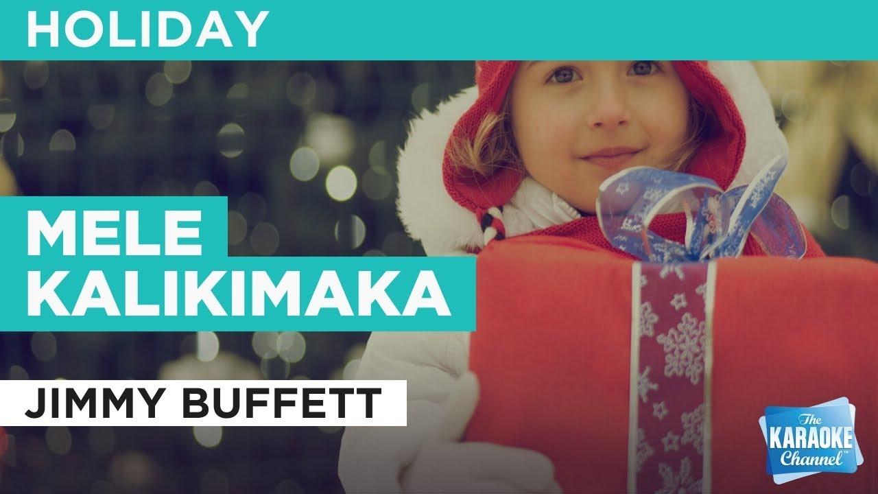 Mele Kalikimaka in the style of Jimmy Buffett | Karaoke with Lyrics ...