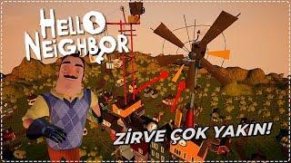 ZİRVEYE ULAŞMAK ÜZEREYİZ! | Hello Neighbor Mod [Türkçe] #194