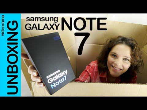 Samsung Galaxy Note 7 unboxing en español | 4k UHD