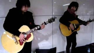 2010/01/31☆ @岡山駅一番街 ストリートライヴ♪ Official Site→http://w...