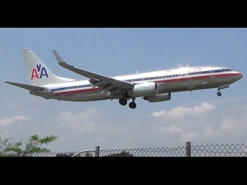 Planespotting at LGA! Four Regionals Landing at LaGuardia Airport (Full HD)