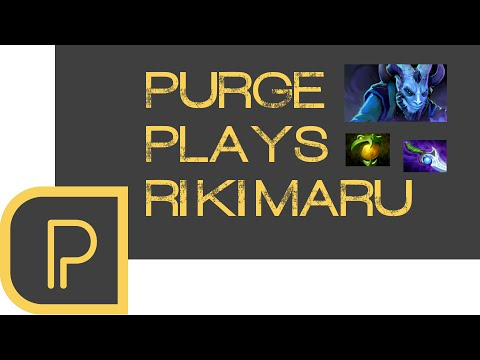 Dota 2 Purge plays Riki - replay