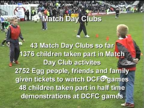 Egg and DCFC football partnership 2006