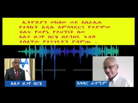 kol israel reka radio amharic interview ambassador Tsegaye Berhe 17/03/2017