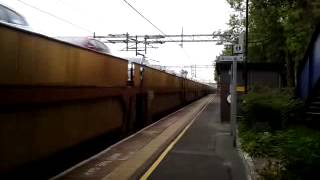 Acton Bridge 6.6.2013 - Dagenham to Garston Ford Car Train Class 90 WCML