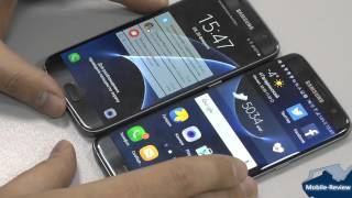 Сравнение Samsung Galaxy S7 и S7 EDGE