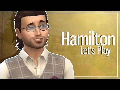 The Sims 4: Hamilton Let's Play #32 | LAMS WEDDING