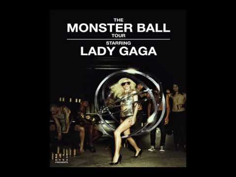Lady GaGa OFFICIAL Intro / Dance In the Dark (Monster Ball Studio Version)