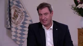 Eine stunde lang stellte sich ministerpräsident markus söder live den fragen von chefredakteur gregor peter schmitz. dabei ging es um die corona-krise in bay...