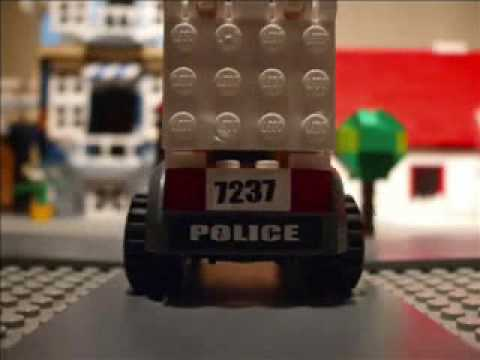 LEGO Police Chase Part 1