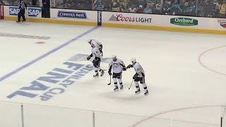 Pittsburgh Penguins Stanley Cup Clinching Goal! Hornqvist