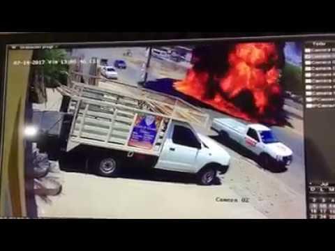 Remolque Con Guachicol Provoca Fuerte Incendio En Culiacan
