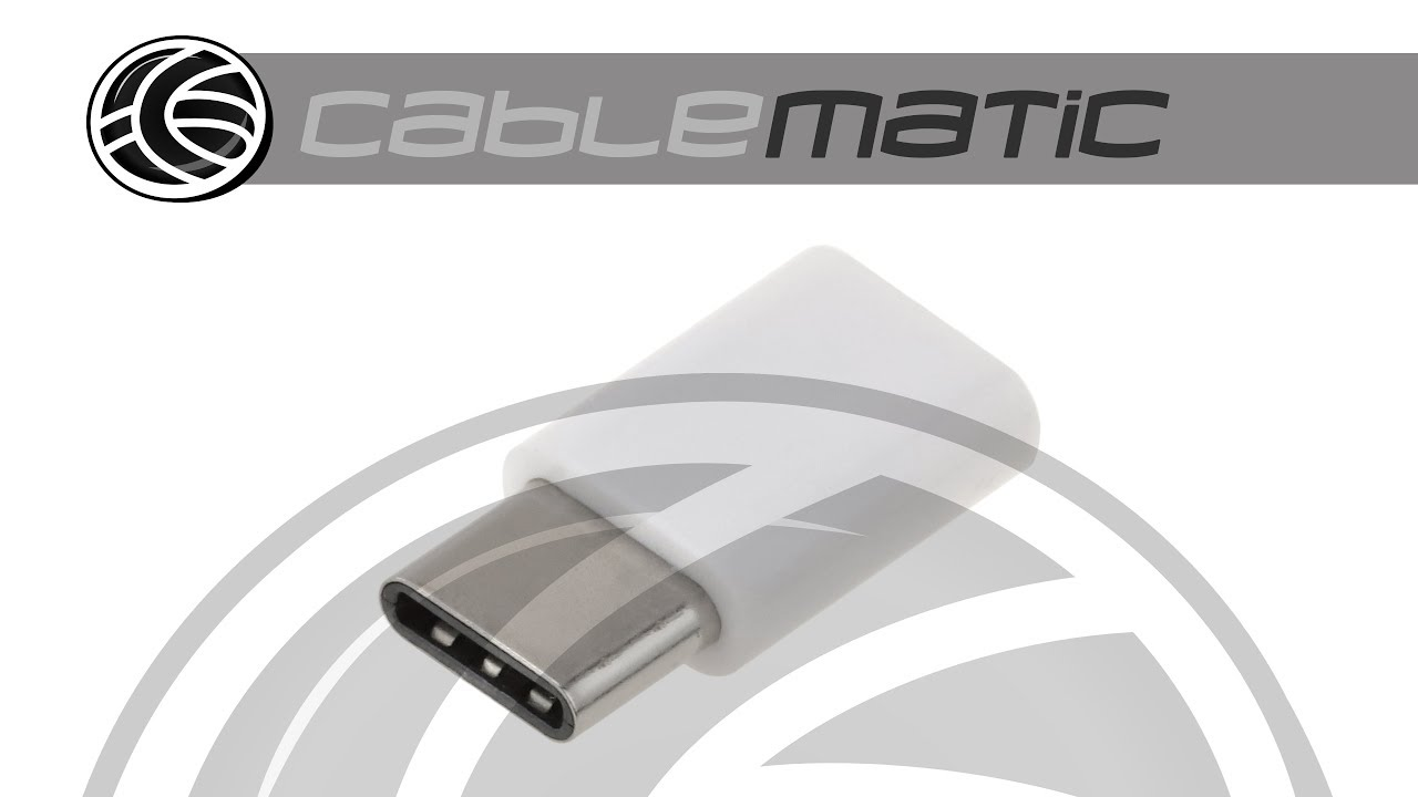 cable adaptador de carga y sincronizaci/ón de 10 pulgadas CERRXIAN USB 2.0 Micro hembra a USB C macho Cable de extensi/ón USB C tipo C tipo C