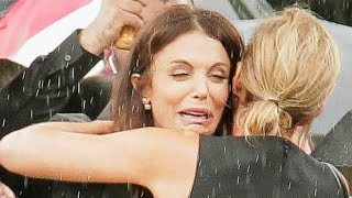 Bethenny Frankel Sobs at Boyfriend's Funeral