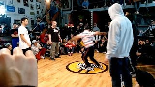 Monstribe vs From Downtown | Top 16 | Fluido Jam Greece 2018