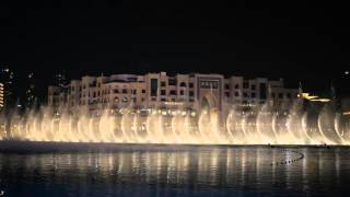 Dubai Dancing Fountains - Michael Jackson