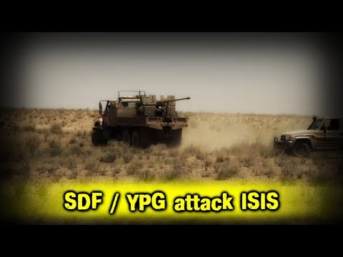 SYRIA: SDF / YPG knocked out ISIS from Al-Fakkah district