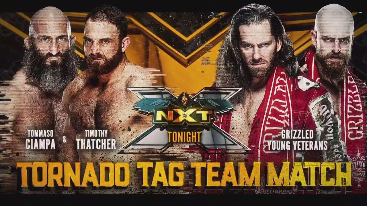 Tommaso Ciampa & Timothy Thatcher vs Grizzled Young Veterans (Tornado Tag Team Full Match Part 1/2)